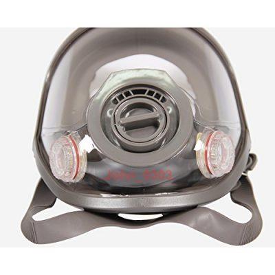 2-in-1-funzione-Full-Face-Flate-View-Facepiece-Respiratore-maschera-antigas-pittura-a-spruzzo-0-2