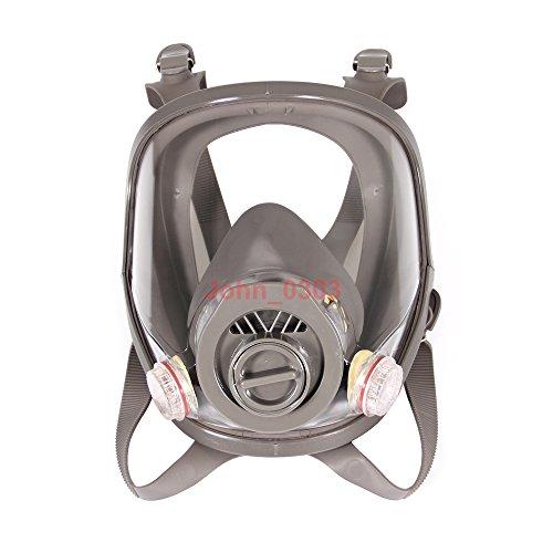 2-in-1-funzione-Full-Face-Flate-View-Facepiece-Respiratore-maschera-antigas-pittura-a-spruzzo-0