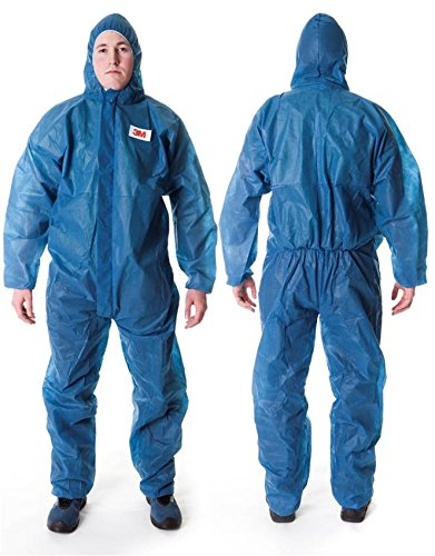 3M-4500-Indumento-di-protezione-tipo-CE-I-cat-Polipropilene-45gmq-Blu-taglia-L-0