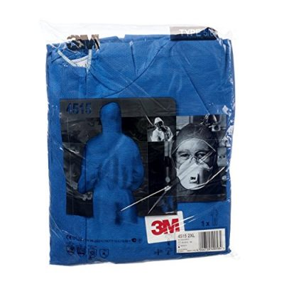 3M-4515-Indumento-di-protezione-56-SMS-Polipropilene-Blu-taglia-L-0-3