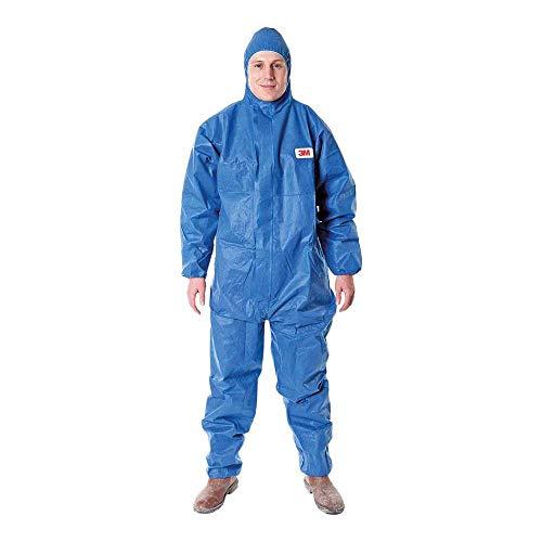 3M-4515-Indumento-di-protezione-56-SMS-Polipropilene-Blu-taglia-L-0