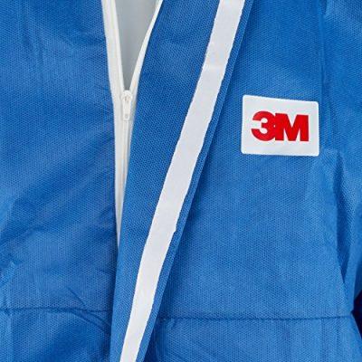 3M-4530-Indumento-di-Protezione-56-SMMS-Polipropilene-FR-Flame-Retardant-Blu-0-3