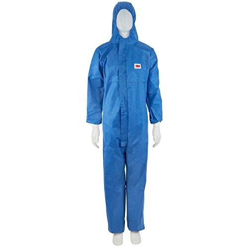 3M-4530-Indumento-di-Protezione-56-SMMS-Polipropilene-FR-Flame-Retardant-Blu-0