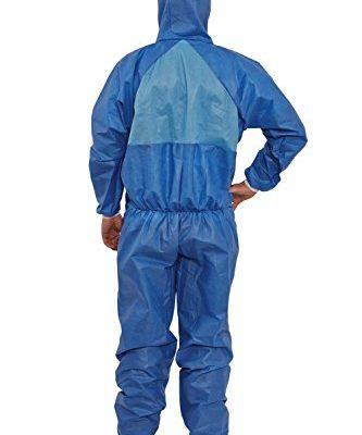 3M-4532-Indumento-di-protezione-56-SSMMS-polipropilene-52gmq-AR-Alcool-Resistant-Blu-Taglia-S-0-0
